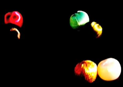 Around beads and lights
