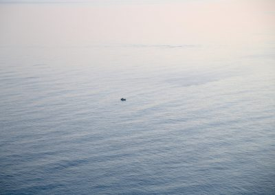 A lonely boat